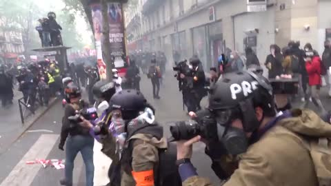 Antifa Rioting On The Streets Of Paris On May Day | The Washington Pundit