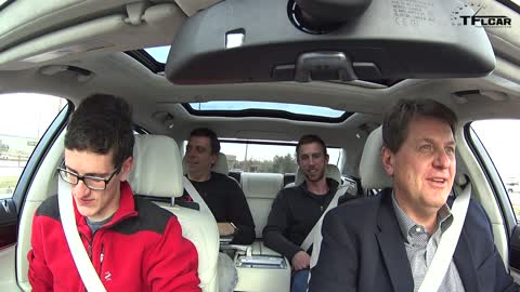 Test driving the brand new 2016 BMW 750i xDrive