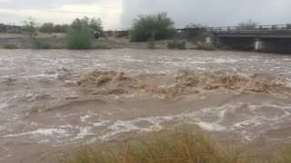 Mass Flash Flooding in Yuma Arizona - Video