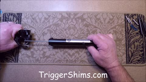 Target Hammer and Trigger Reduced Pull Kit for T/CR22 Thompson Center Rimfire