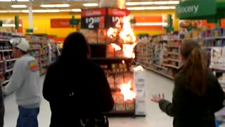 Fire on Aisle 2 - Video