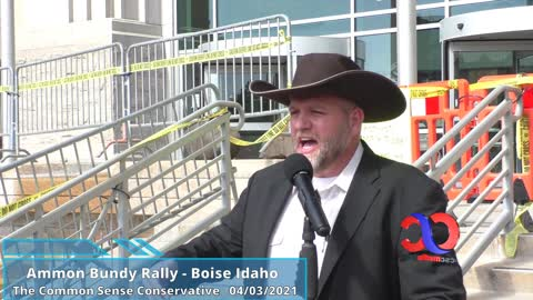 Ammon Bundy Talks About How Our Justice System Was Severely Damaged In The Last Year