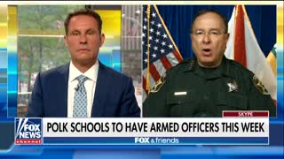 Florida sheriff calls for armed guards in every school - Video
