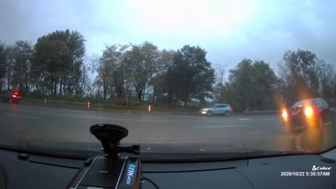 Car Accident Dash Cam