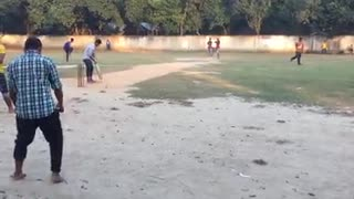 A village Cricket  - Video