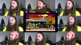 One man acapella cover of Street Fighter 2 (Guile) theme song