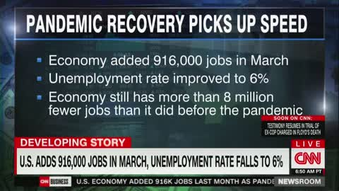 CNN To Biden Advisor: If Economy Is Set To Grow, Why Need $2T Infrastructure Bill?
