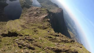 Snowdon Wingsuit Proximity Flight