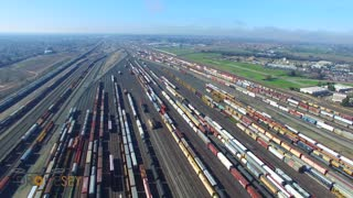 Roseville Rail Yard Largest Rail Facility on the West Coast - Video