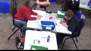 Election 2020 - vote count fraud caught on video