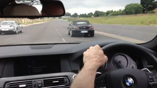 Honda S2000 rapes BMW 535D Street Race - Video