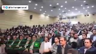 Mahmood Sadeghi speech in Shiraz university - Video