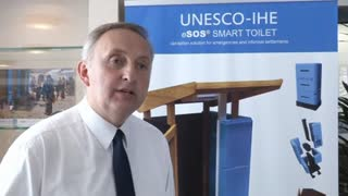 The 'Smart' toilet which could replace hole-in-the-ground disaster zone sanitation - Video