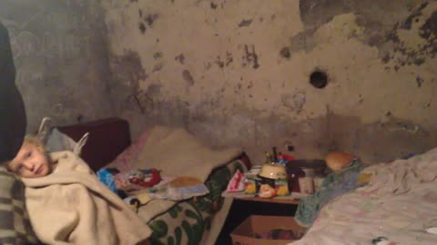 Life In A Bomb Shelter Of Donetsk