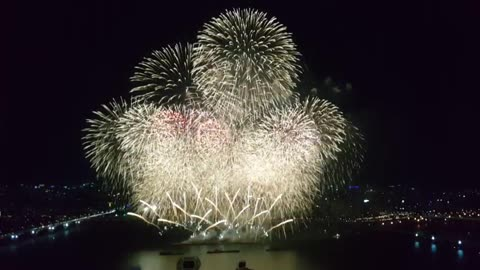 Incredible Fireworks Display! Must Watch!!!