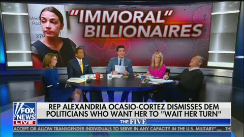 "Gutfeld — Ocasio-Cortez Is Similar To Trump; ""Saying Memorable Things"" That Are ""Directionally True"""