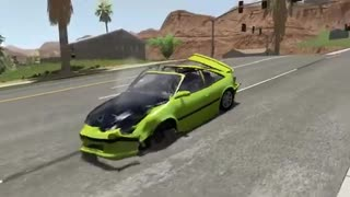 Satisfying Rollover Crashes #2 BeamNG Drive | Crash Blasters