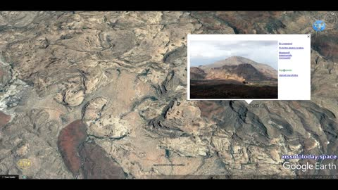 Mysterious geoglyphs in Namibia, part one, circles in rocks