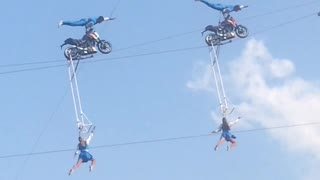 Acrobatics Show at Edelweiss Lodge and Resort - Video