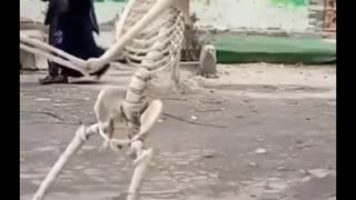 Someone who disobeyed his mother turned into a skeleton | Funny 😂😂