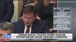 Hearing: Johnson Mr. Mueller your report does not conclude that impeachment would be appropriate