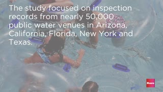 CDC reports 80% of public pools have health and safety violations | Rare News - Video