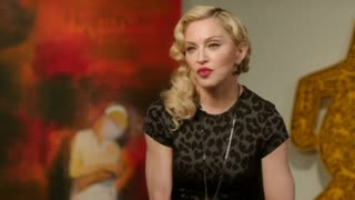 Madonna jokes about her stage fall and reveals her parenting style