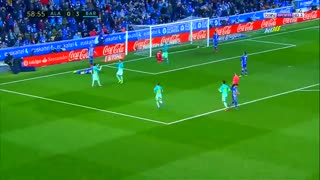 Leo Messi amazing goal vs Alaves - Video