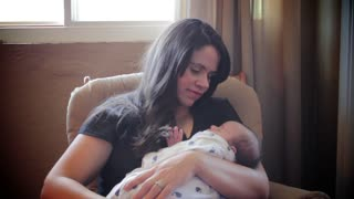 New Baby Interview With Parents - Video