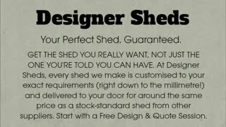 custom made sheds - Video
