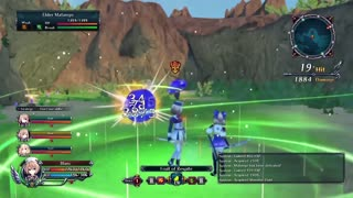 Cyberdimension Neptunia 4 Goddesses Online Official Gameplay Footage 3