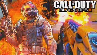 "Black Ops 3: Flamethrower ""Purifier"" gameplay"
