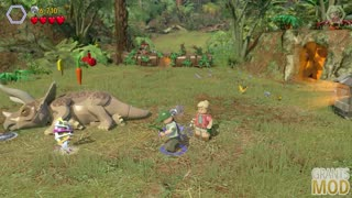 LEGO: Jurassic World walkthrough part 3