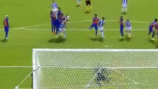 Gabriel Barcelona marks super goal (Video) - Video