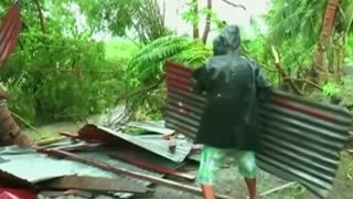 Typhoon Goni kills at least 9 - Video