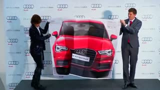 Audi becomes Guinness World Record holder with largest ad - Video