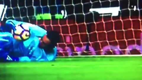Keylor Navas terrible own goal