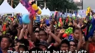 Biggest Water Fight Ever - Video
