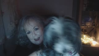 Chinese Crested Puffball sabotages my video  - Video