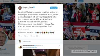 Trump Has a Reality Check For Spike Lee