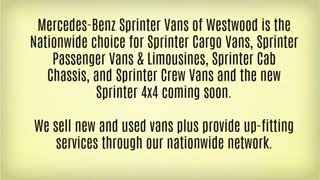 mercedes sprinter - Video