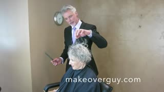 "MAKEOVER: Silver, Short and Sassy by Christopher Hopkins, ""The Makeover Guy®"" - Video"