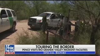 Pence visit to McAllen migrant center