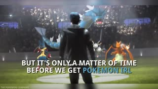 Pokemon Holograms First Step To Pokemon IRL - Video