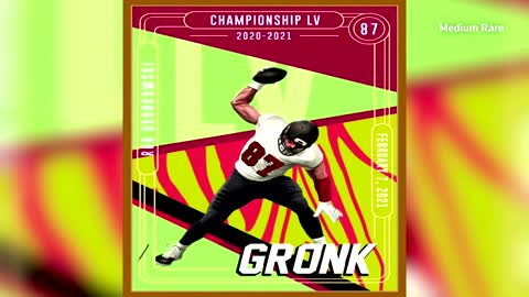 NFL's Rob Gronkowski launches digital trading cards