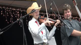 Trustin Baker - Anything Goes - 2013 Texas State Fiddle Championship - Hallettsville