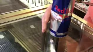 Dead Mouse Found in a Red Bull - Video