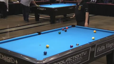 Best Cue Ball Parking by Chris Melling