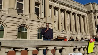 AFEI KY Member Speaks to Stand Kentucky Rally 12-5-20