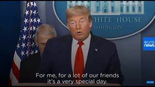 Trump: You May Not See Me For A While. Original Timeline.